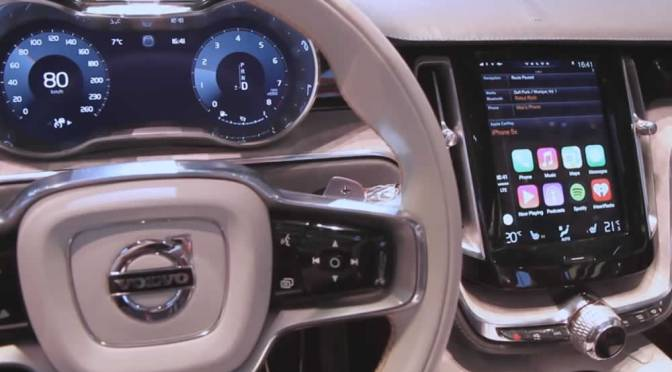 Apple's CarPlay Integrated In Volvo