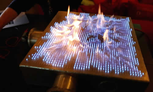 Dubstep Visualised In Fire
