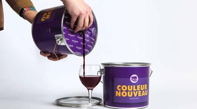 McCann Vilnius' Purple Wine Paint Buckets