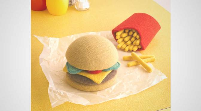 Wool Knitted Food