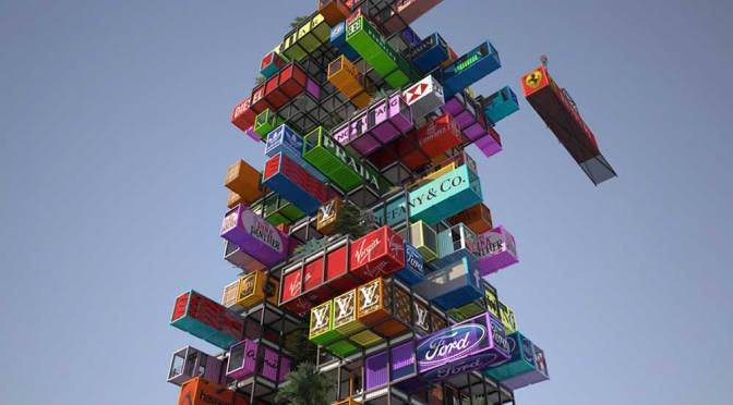 Jenga-Like Hotel – A Radical Innovation