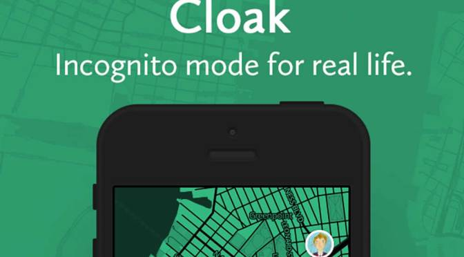 Cloak – An App For Your Antisocial Needs