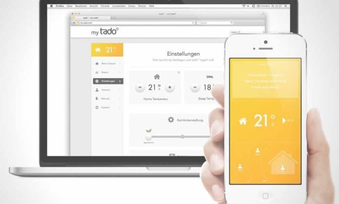 Tado Heating App
