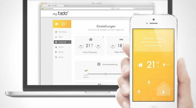 Tado Heating App