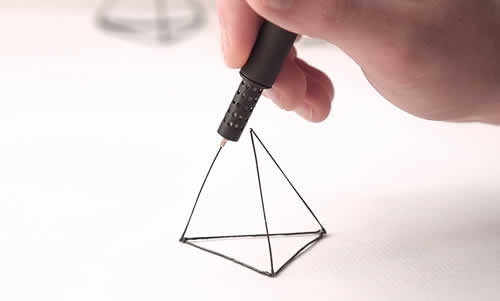 Draw In The Air With The LIX 3D Printing Pen