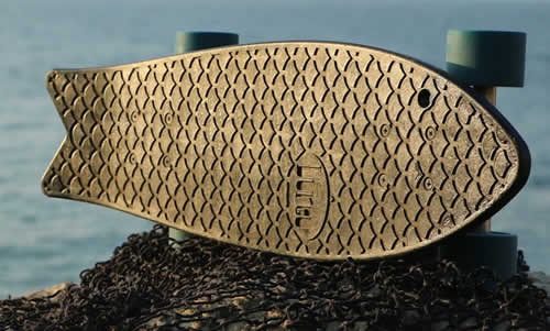 Bureo Skateboard – Made From Recycled Fishnets