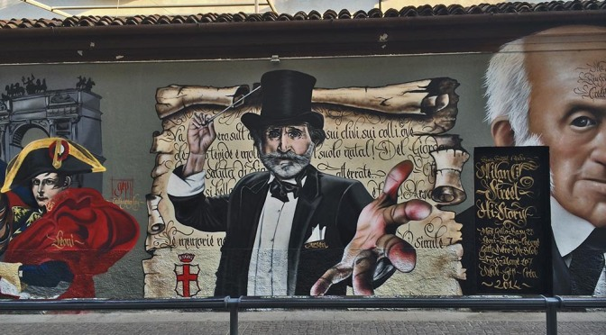 Street Art: History of Milan with Graffiti