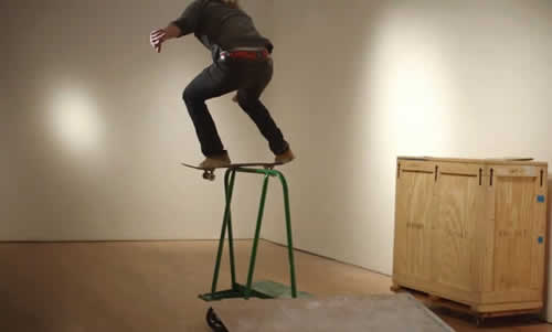 Christie's Auction House Creates A Skate Video