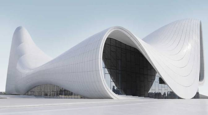 The Heydar Aliyev Center By Zaha Hadid Architects