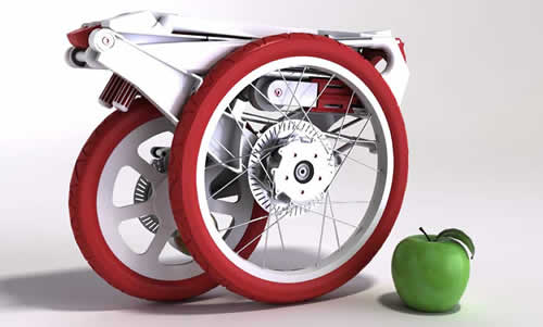 Bike Intermodal – A Folding Bike From The Space Age