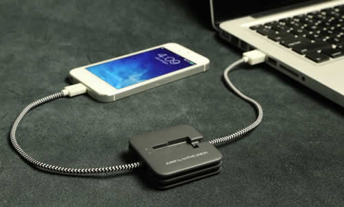 Jump Self-Charging Cable For Your Smartphone
