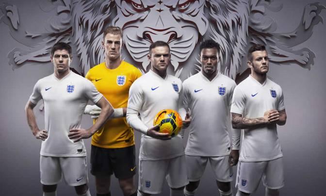 Nike Football Launch – England Kit