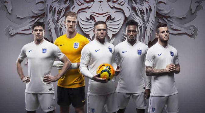 Nike Football Launch – England Kit