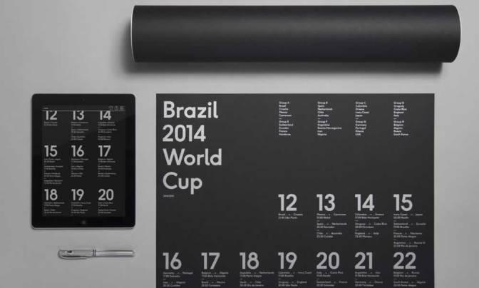 The Brazil Fourteen Poster By Karoshi