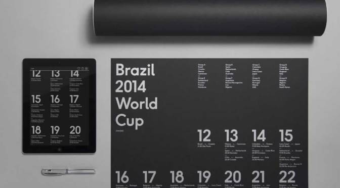 The Brazil Fourteen Poster By Karoshi