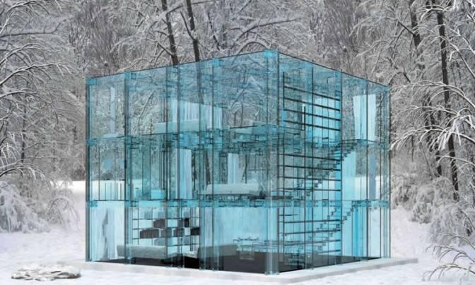 The Glass House By Santambrogio & Arosio