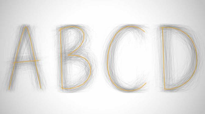 The Universal Typeface Experiment By BIC Pens