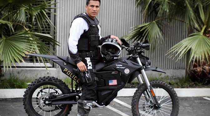 The LAPD Just Got a Military-Grade Zero MMX Electric Bike