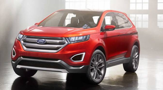 2015 Ford Edge 4×4 Makes Its Debut