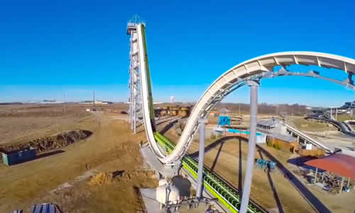 The Highest (And Scariest) Water Slide In The World