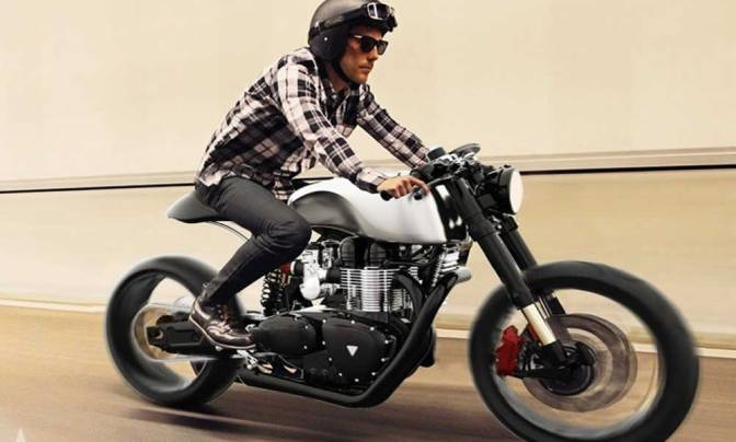 Black Shadow H-E Concept Hydrogen Electric Hybrid Morotcycle
