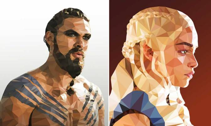 Illustrations Of Game Of Thrones Characters By Mordi Levi