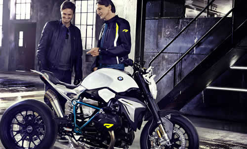 The BMW Motorrad Concept Roadster