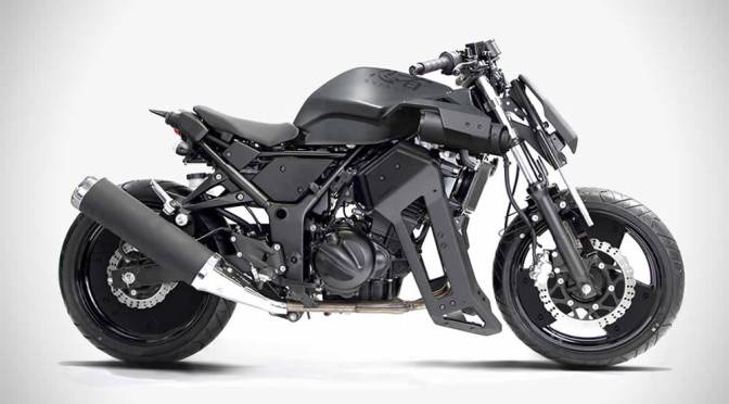 Brasse 31BLK Mod Kit For Kawasaki Ninja 250