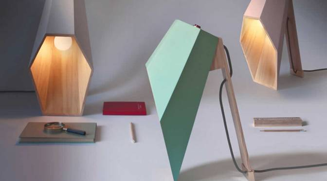 Woodspot: A Hexagonal Table Lamp By Alessandro Zambelli