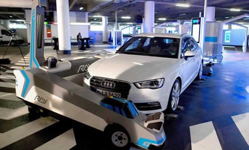Germany's Dusseldorf Airport Now Has A Robot For Valet Parking