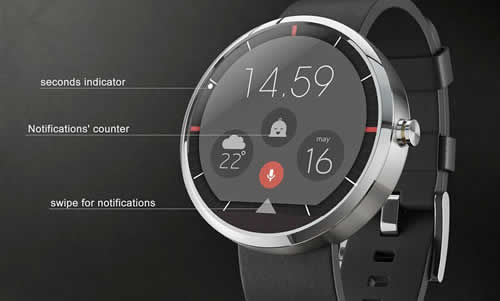 The New Smartwatch By Arrow Has A 360 Degree Camera